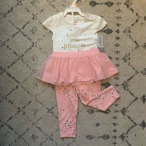 CARTER'S Daddy's Little Princess Outfit Set